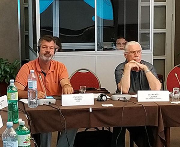 Peti sastanak radne grupe Radno zakonodavstvo Zdravlje i bezbednost na radu – Sadašnje stanje BZR-a na ZB i novi pristupi implementaciji BZR standarda u structure socijalnog dijaloga Regionalnog sidnikalnog saveta ,,Solidarnost''