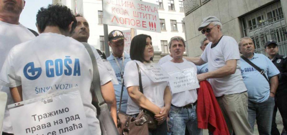 Goša - Protesti