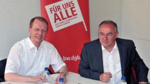 Nicolas Landgraf i Josip Juratović prilikom predstavljanja projekta u Stuttgartu
