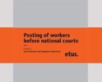 Posting of workers before national courts — Edited by Zane Rasnača and Magdalena Bernaciak