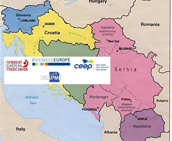 ETUC and European employers promote social dialogue in Macedonia (FYROM), Montenegro and Serbia