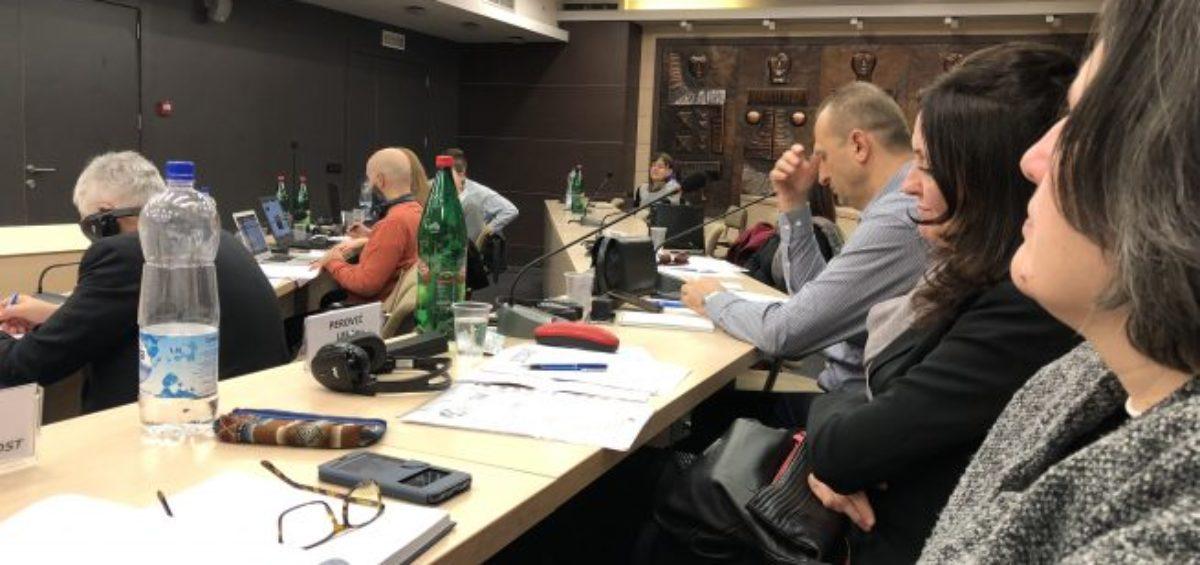 Plenarna sednica Regionalnog sindikalnog saveta SOLIDARNOST održana je u Beogradu 31. januara 2018. godine.