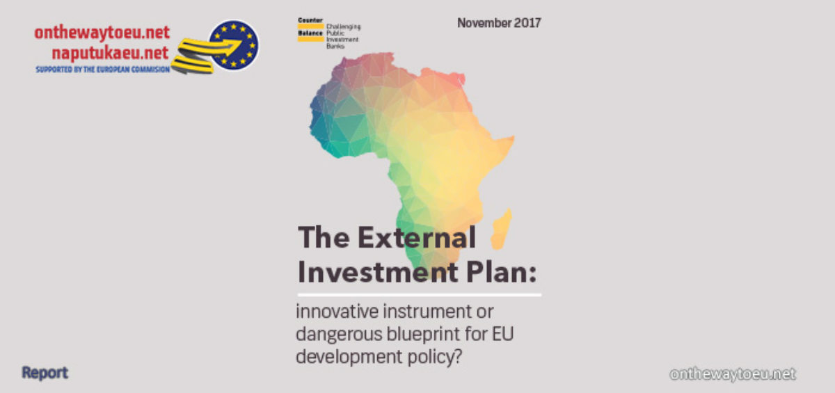 The European External Investment Plan: innovative instrument or dangerous blueprint for EU development policy?