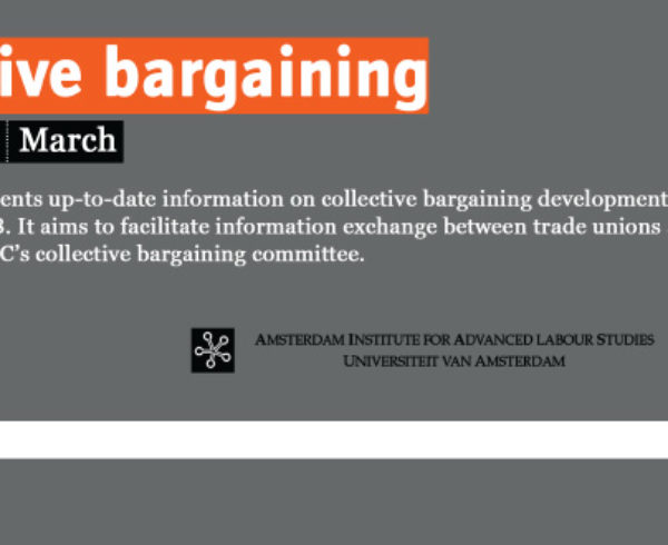 etui. collective bargaining 1503 newsletter