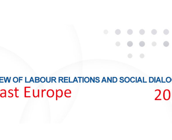Annual Review of Labour Relations and Social Dialogue in South East Europe, 2013