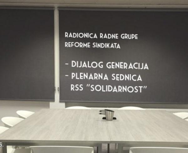 """Skoplje, 09.-14.10.2015. Radionica radne grupe Reforme sindikata: Dijalog generacija; Plenarna sednica RSS """"Solidarnost"""""""