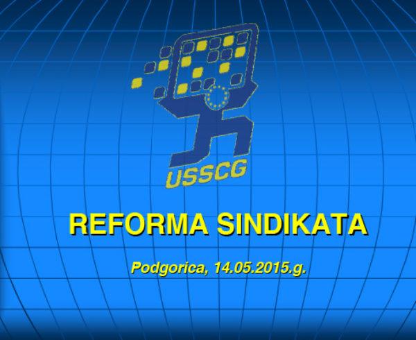 USSCG Reforma Sindikata