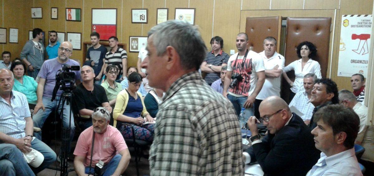 Radionica radne grupe - Reforme sindikata AKTIVNOSTI - Podgorica, 12.-15.05.2015.
