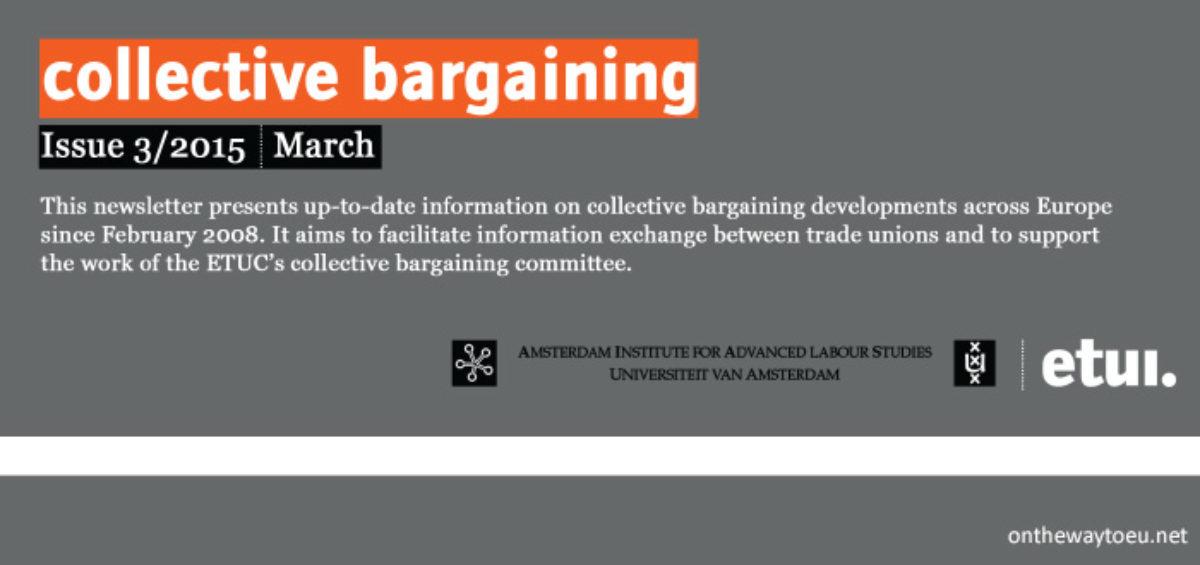 etui. collective bargaining 1503 newsletter